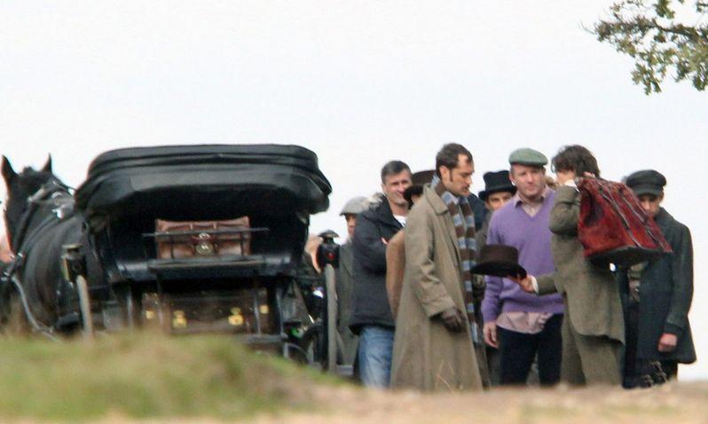 Sherlock Holmes 2 On Set photo 4