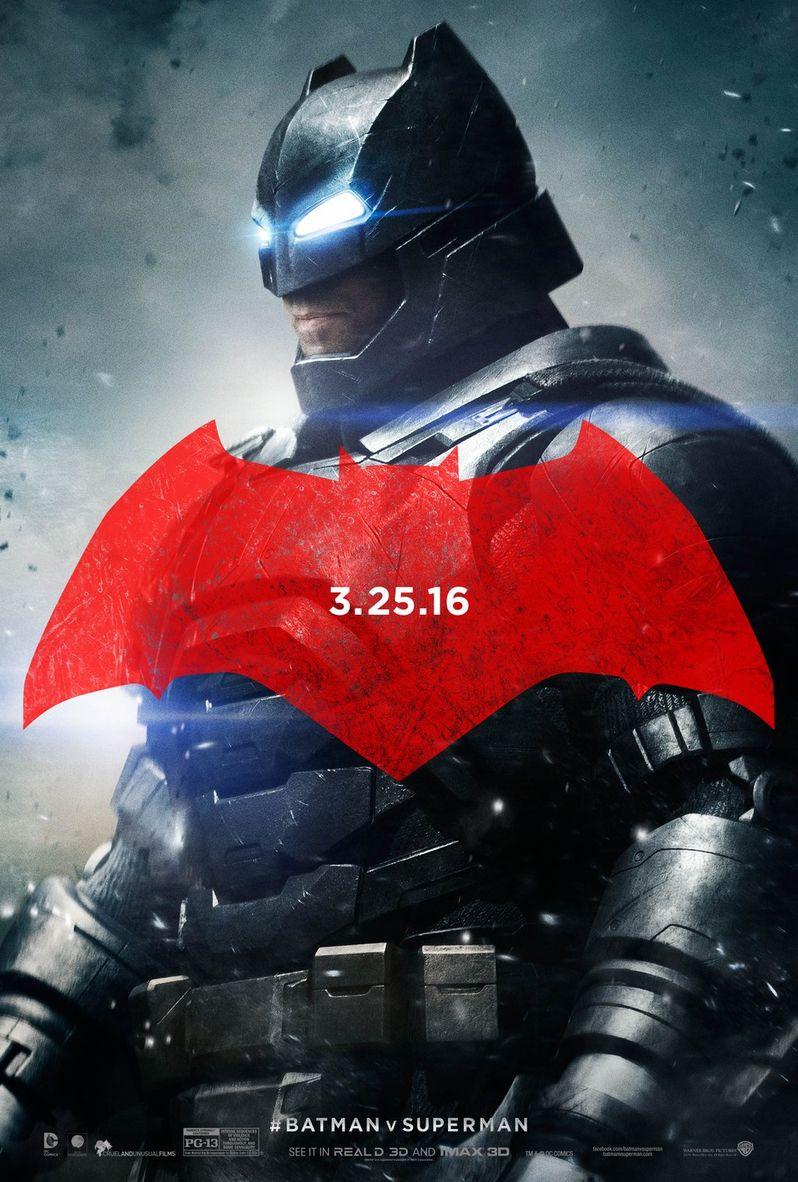 Batman v Superman Batman Character Poster