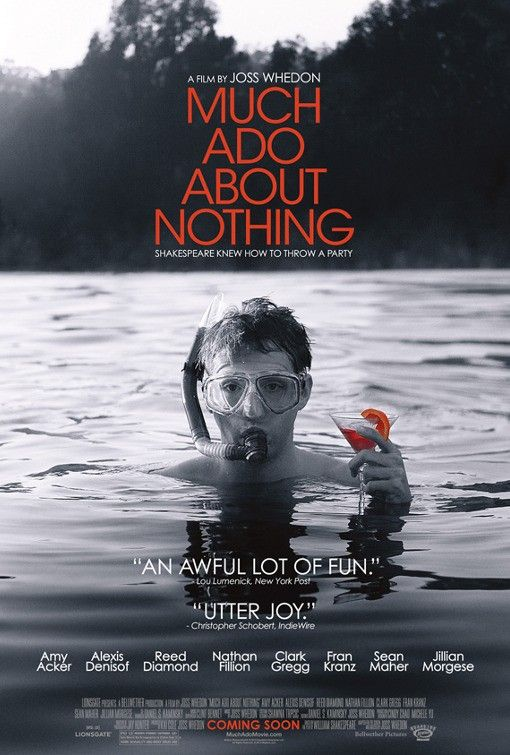 <strong><em>Much Ado About Nothing</em></strong> Official Poster
