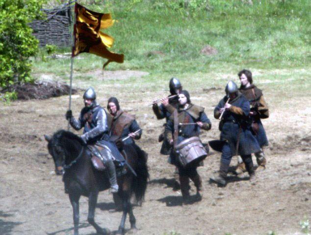 On the Set of <strong><em>Robin Hood</em></strong> #2