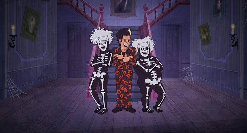 David S. Pumpkins Halloween Special