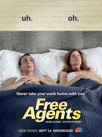 <strong><em>Free Agents</em></strong> Season 1 Poster