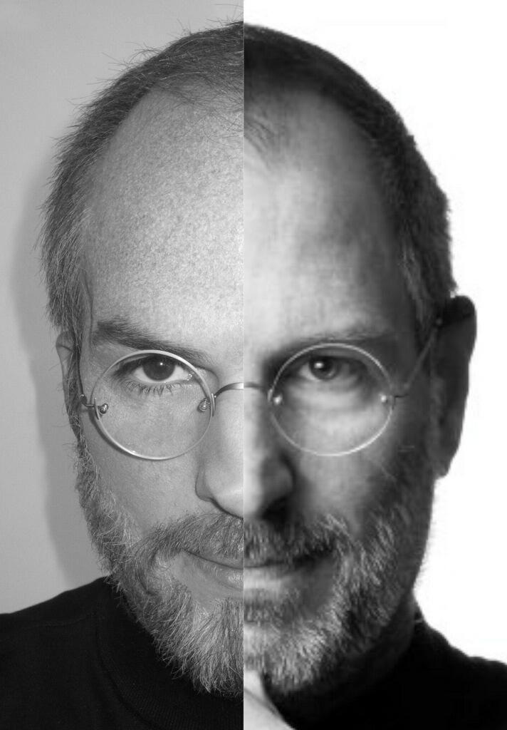 jOBS Ashton Kutcher Steve <strong><em>Jobs</em></strong> Split-Screen Photo