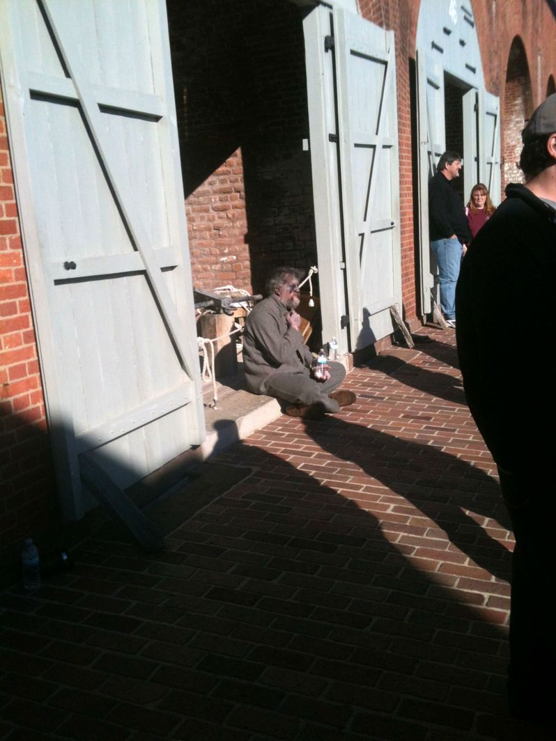 Abraham Lincoln vs. Zombies Set Photo #8