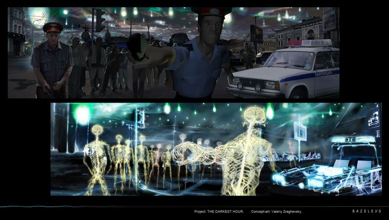 <strong><em>The Darkest Hour</em></strong> Concept Art - Alien POV