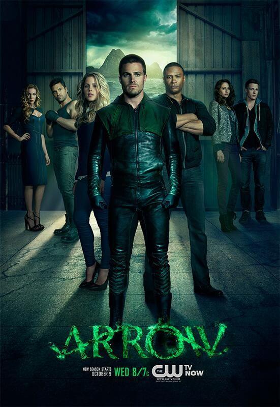 <strong><em>Arrow</em></strong> Season 2 Promo Art 1