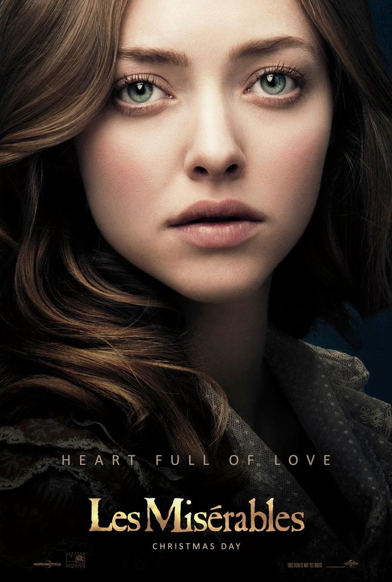 <strong><em>Les Miserables</em></strong> Amanda Seyfried Poster