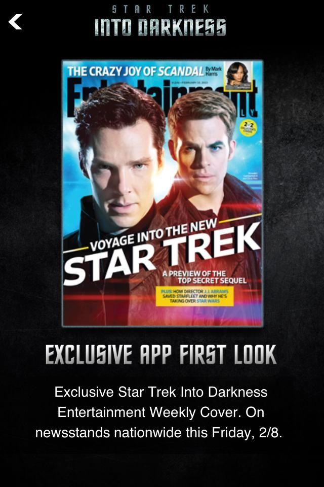 <strong><em>Star Trek Into Darkness</em></strong> EW Cover 2