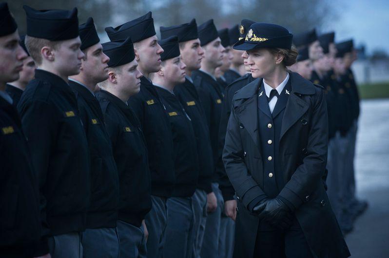 Joan Allen in a scene from Netflix's <strong><em>The Killing</em></strong> Season 4