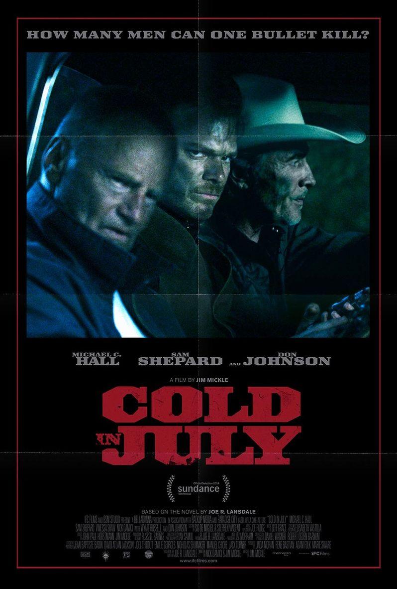 <strong><em>Cold in July</em></strong> Poster