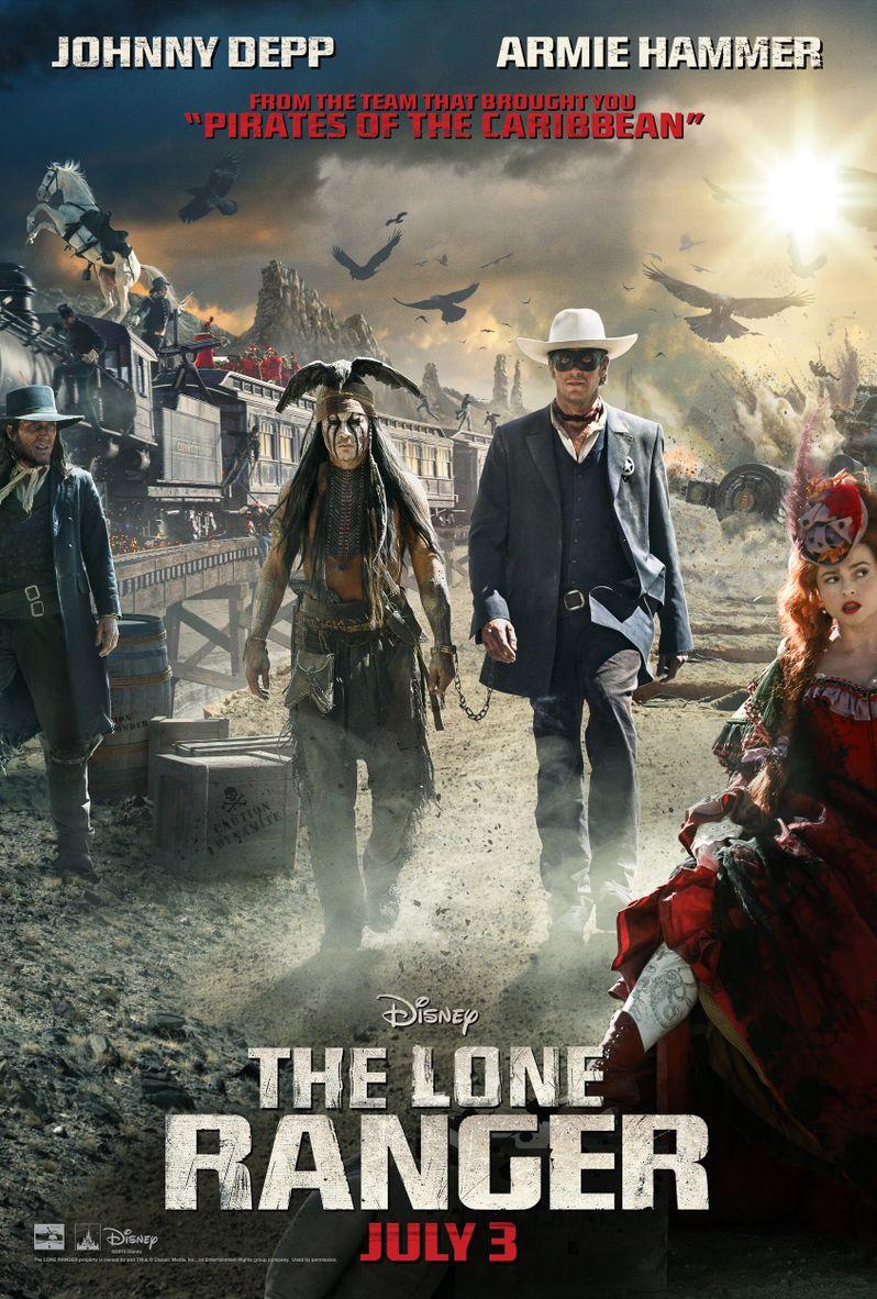 <strong><em>The Lone Ranger</em></strong> Poster