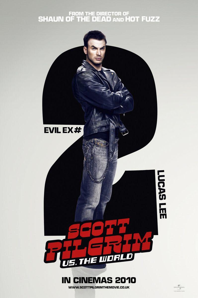 <strong><em>Scott Pilgrim Vs. the World</em></strong> Chris Evans Character Poster