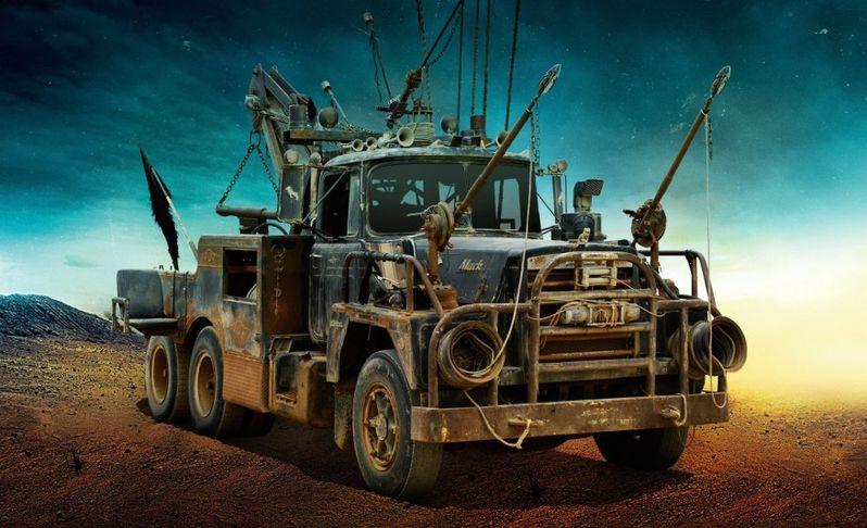 <strong><em>Mad Max: Fury Road</em></strong> Mack Photo