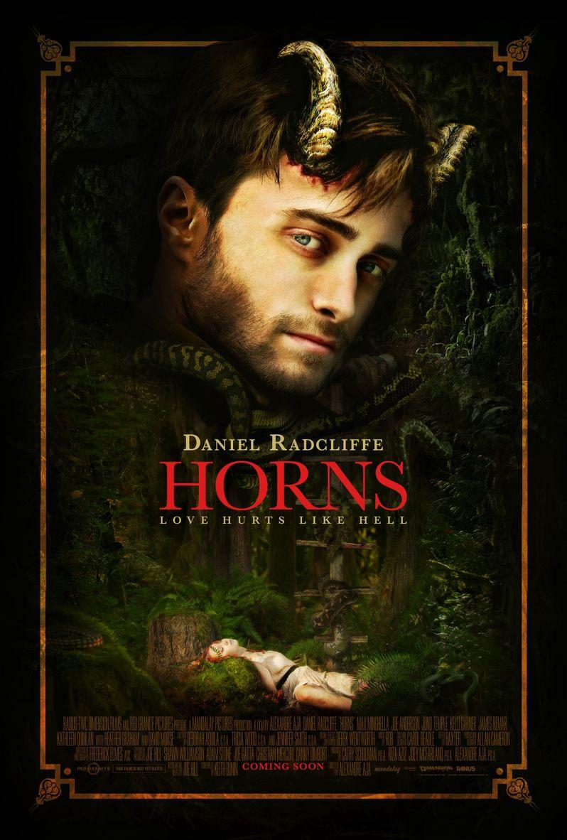 <strong><em>Horns</em></strong> Comic-Con Poster