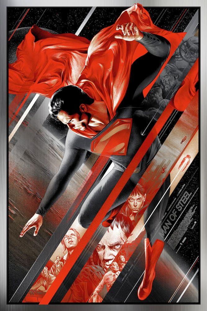 <strong><em>Man of Steel</em></strong> Mondo Poster 4