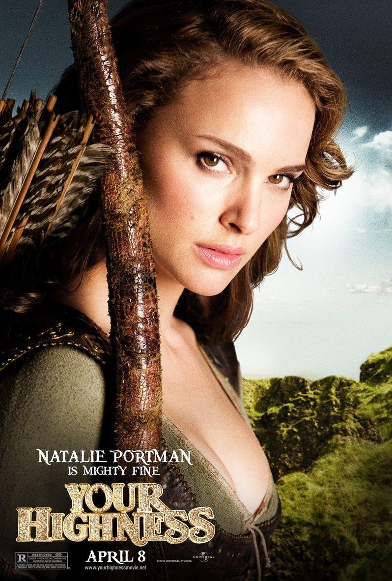 <strong><em>Your Highness</em></strong> Natalie Portman Character Poster
