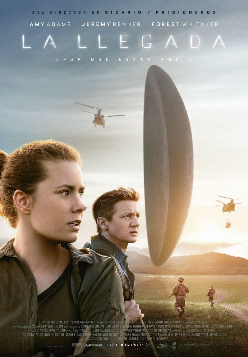 <strong><em>Arrival</em></strong> Poster 2