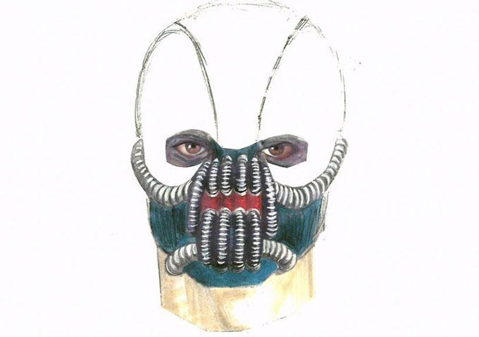 <strong><em>The Dark Knight Rises</em></strong> concept art Bane 2