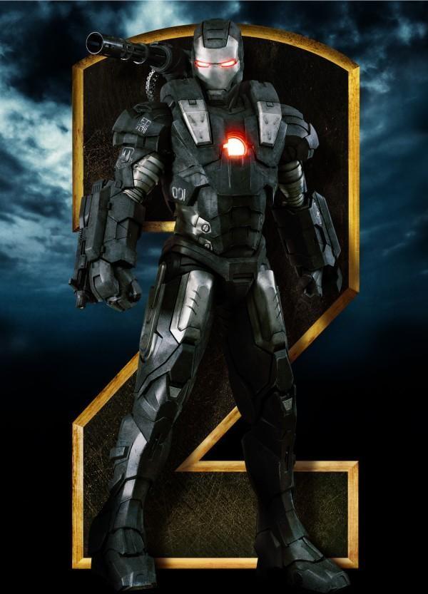 <strong><em>Iron Man 2</em></strong> War Machine Standee