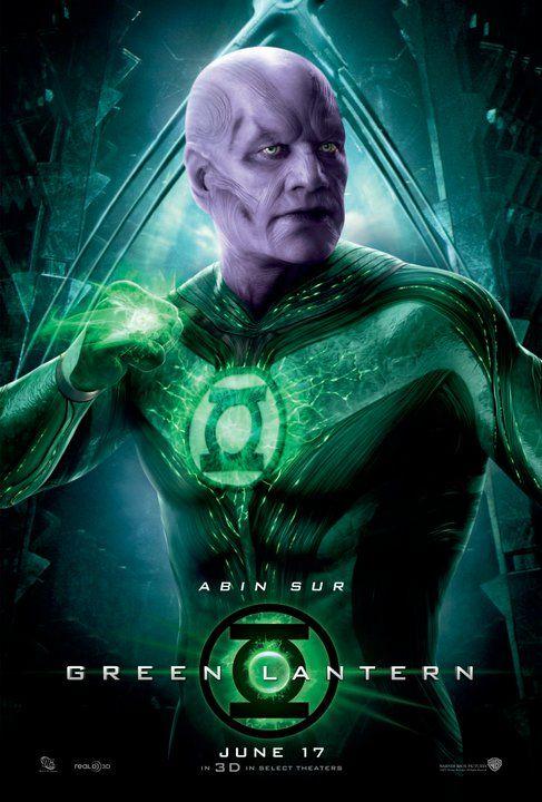 <strong><em>Green Lantern</em></strong> Abin Sur Photo