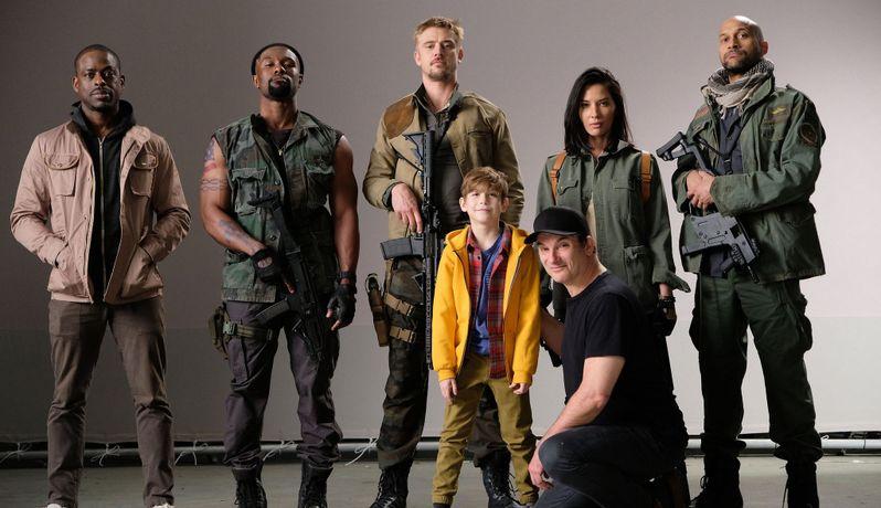 Predator Cast 2017
