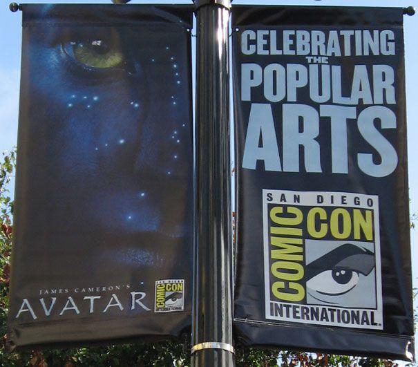 <strong><em>Avatar</em></strong> Comic-Con 2009 Banner Art
