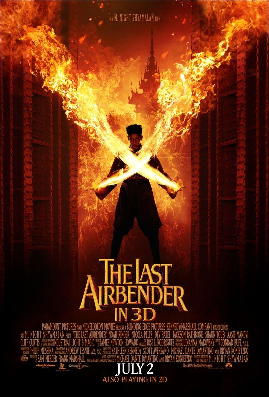 Dev Patel <strong><em>The Last Airbender</em></strong> Poster