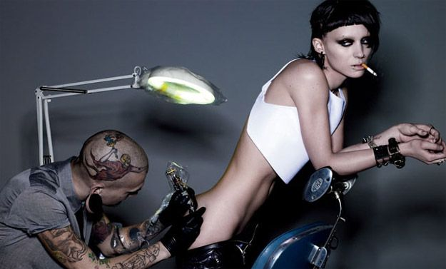The Girl With the Dragon Tattoo Rooney Mara Photo #2