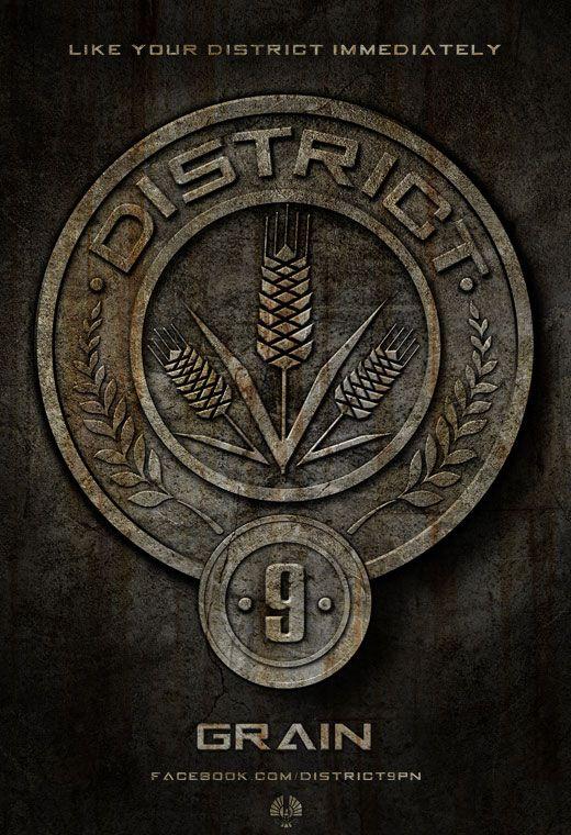 <strong><em>The Hunger Games</em></strong> District 9 Poster