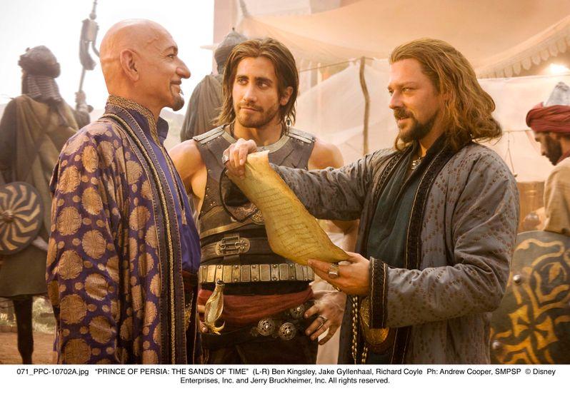 Ben Kingsley, Jake Gyllenhaal and Richard Coyle