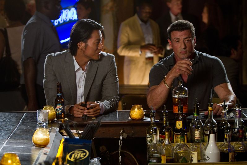 Sung Kang and Sylvester Stallone star as unlikely partners in <strong><em>Bullet to the Head</em></strong>