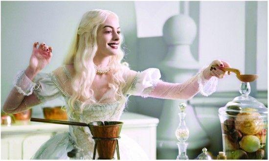 Anne Hathaway Talks Alice in Wonderland