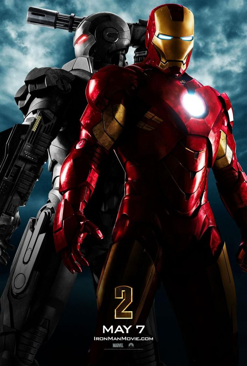 The first <strong><em>Iron Man 2</em></strong> Poster