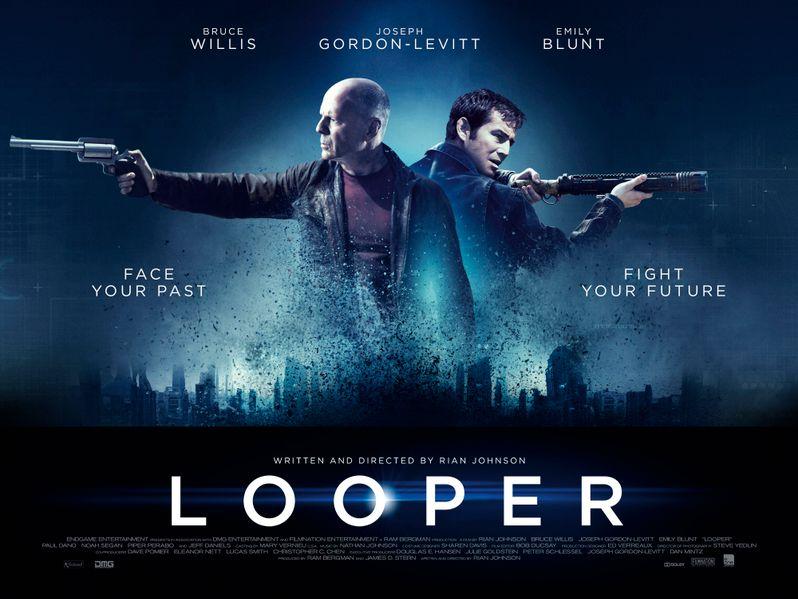 <strong><em>Looper</em></strong> UK Quad Poster