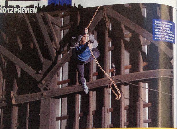 <strong><em>The Amazing Spider-Man</em></strong> Empire Magazine Photo #9