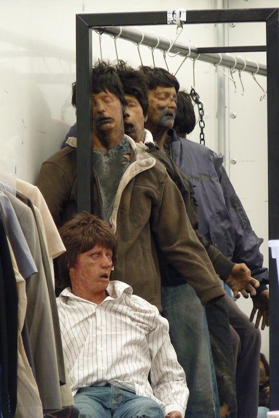 <strong><em>World War Z</em></strong> Zombies on set #7