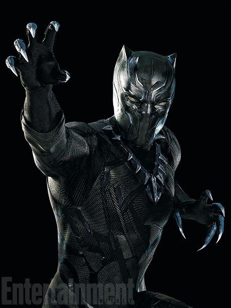Captain America Civil War <strong><em>Black Panther</em></strong> Photo