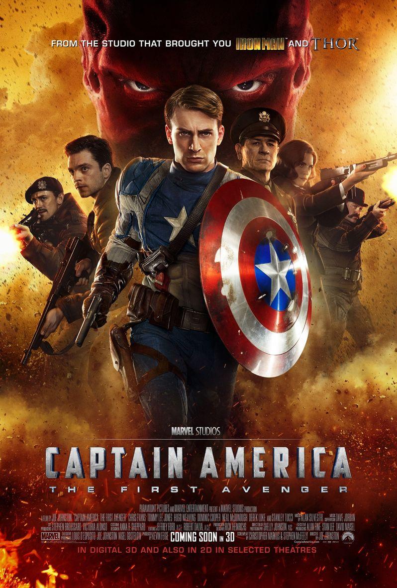 <strong><em>Captain America: The First Avenger</em></strong> Poster