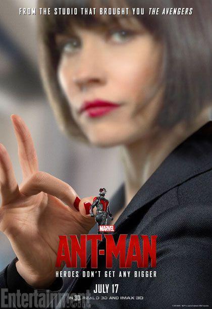 <strong><em>Ant-Man</em></strong> Hope Van Dyne Poster