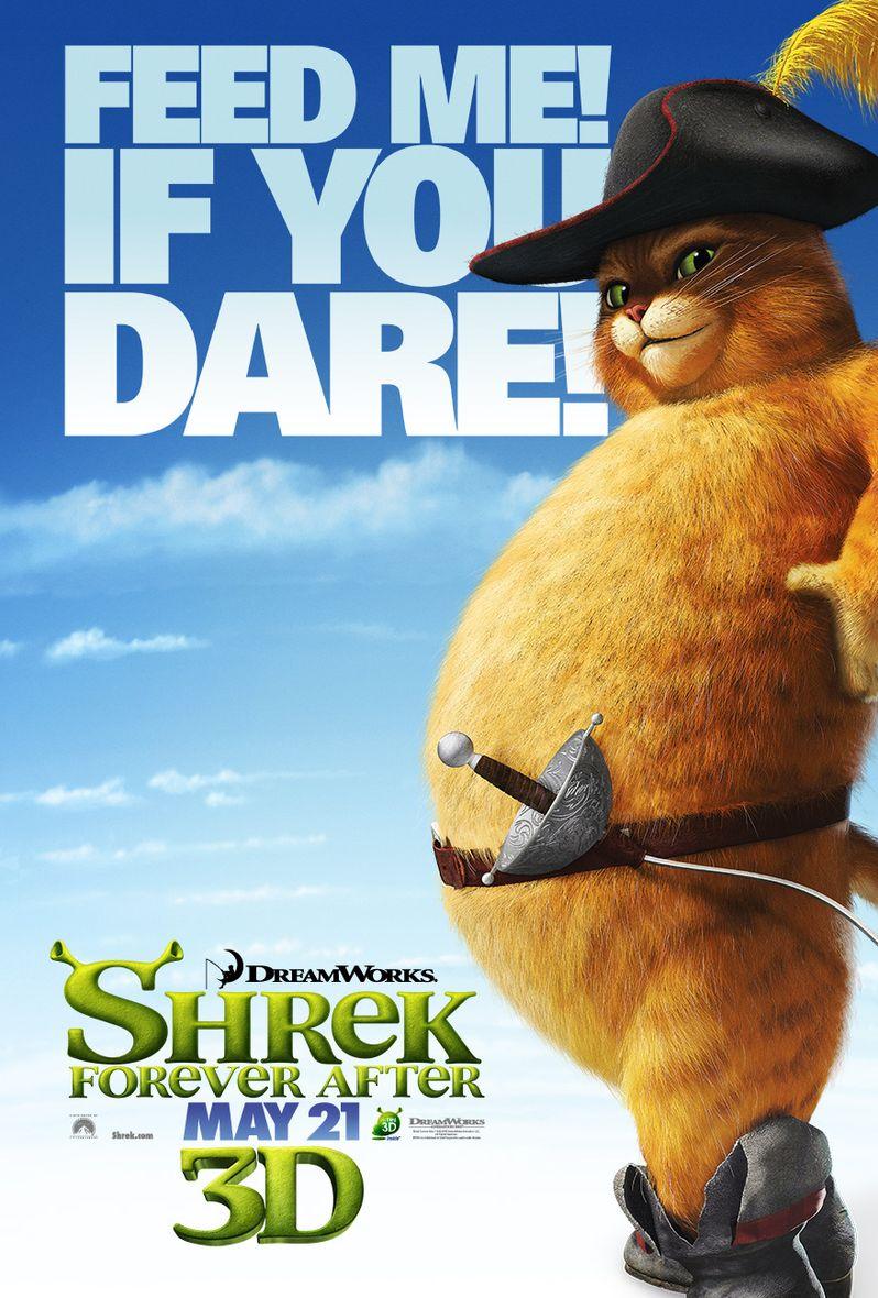 <strong><em>Shrek Forever After</em></strong> Puss in Boots