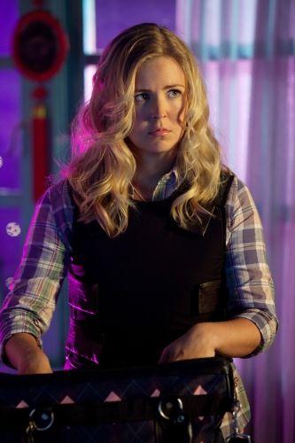 Keri Lynn Pratt talks about playing Cat Grant in a few episodes of the final season of <strong><em>Smallville</em></strong>