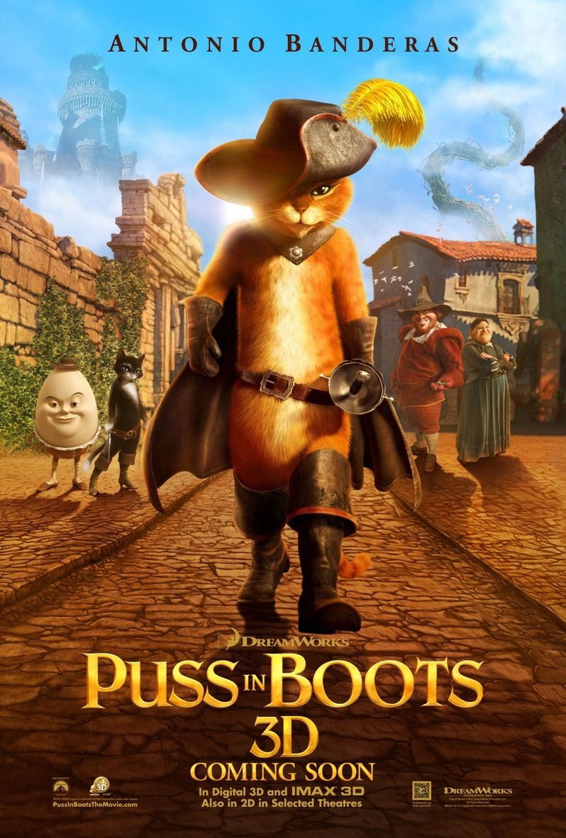 <strong><em>Puss in Boots</em></strong> Poster #3