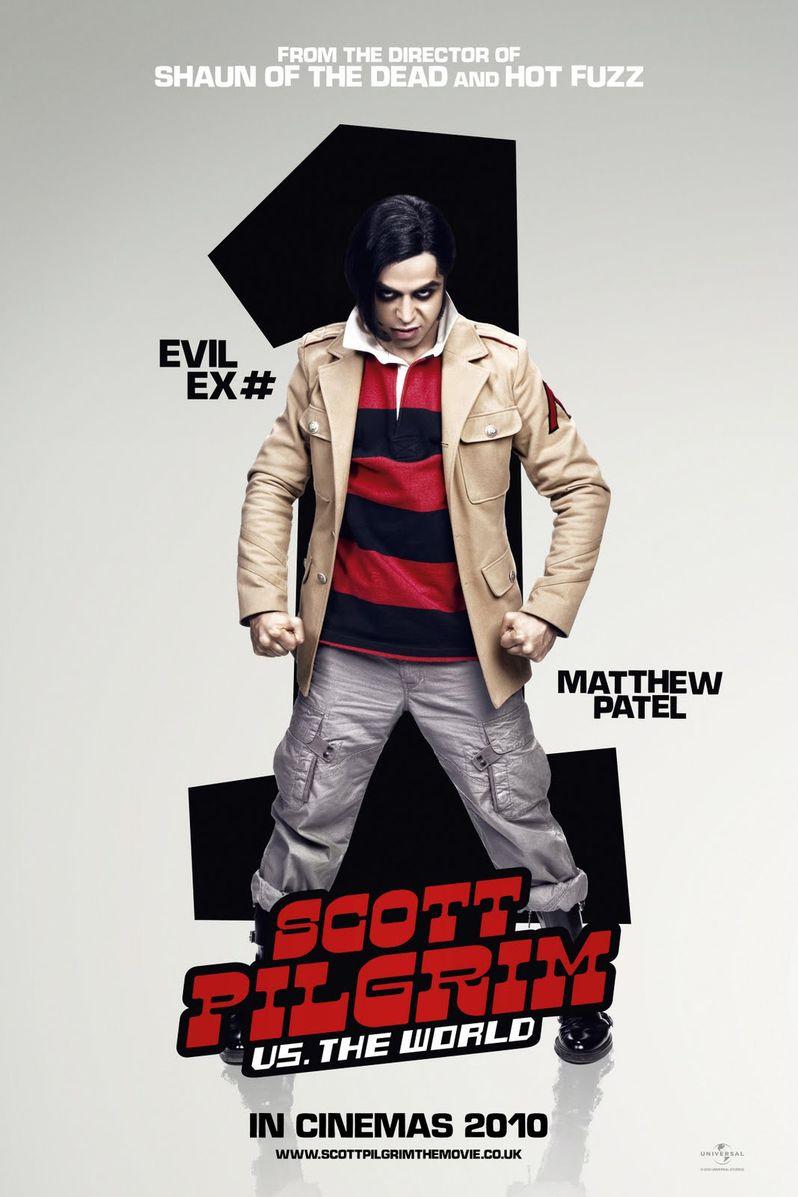 <strong><em>Scott Pilgrim Vs. the World</em></strong> Satya Bhabha Character Poster