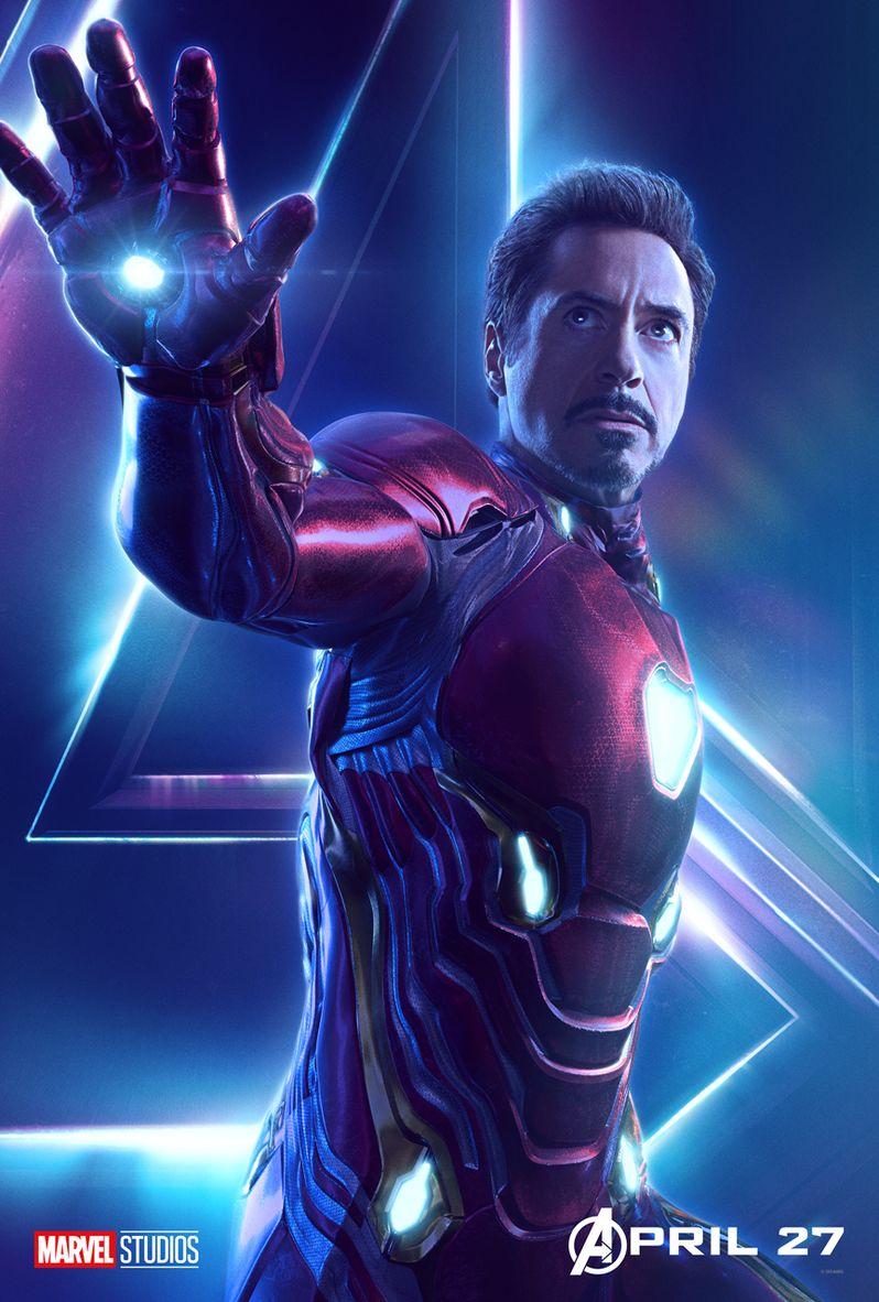 Avengers Infinity War Character Poster #2