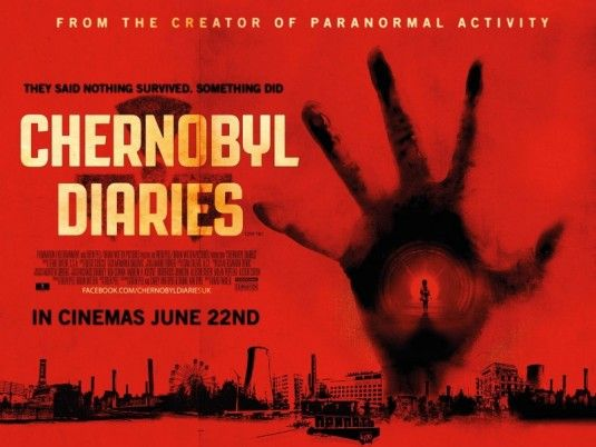 <strong><em>Chernobyl Diaries</em></strong> UK Quad Poster
