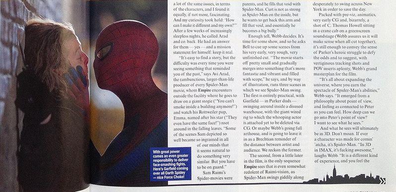 <strong><em>The Amazing Spider-Man</em></strong> Empire Magazine Photo #7