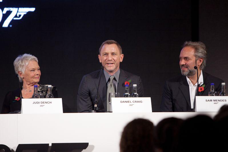 <strong><em>Skyfall</em></strong> London Press Conference photo 6