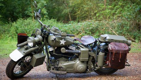 Captain America The First Avenger Harley Davidson #1
