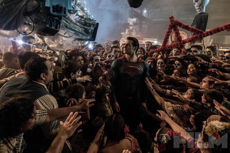 Batman v Superman Total Film Photo 2