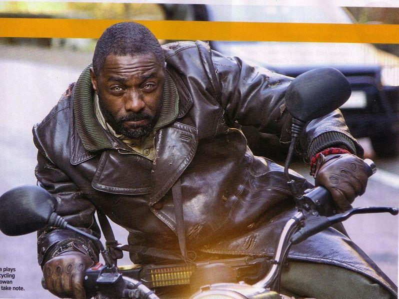 Idris Elba in Ghost Rider: Spirit of Vengeance